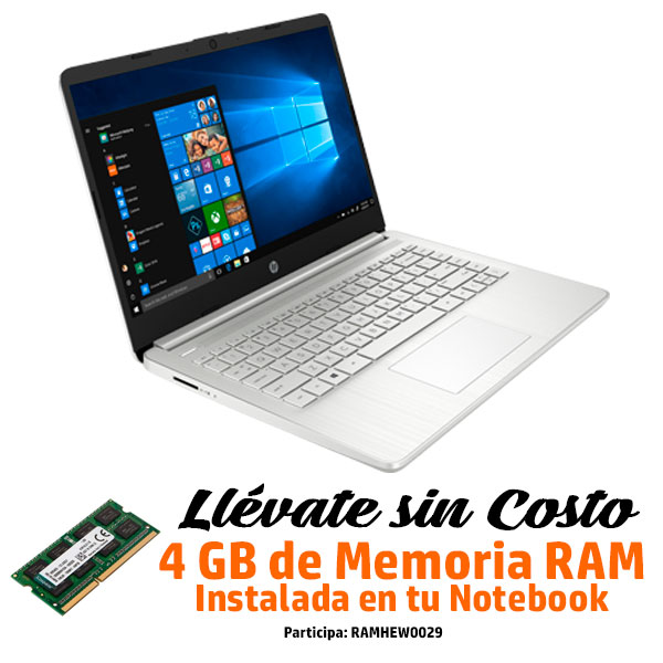 HP Notebook 14-DQ1003LA