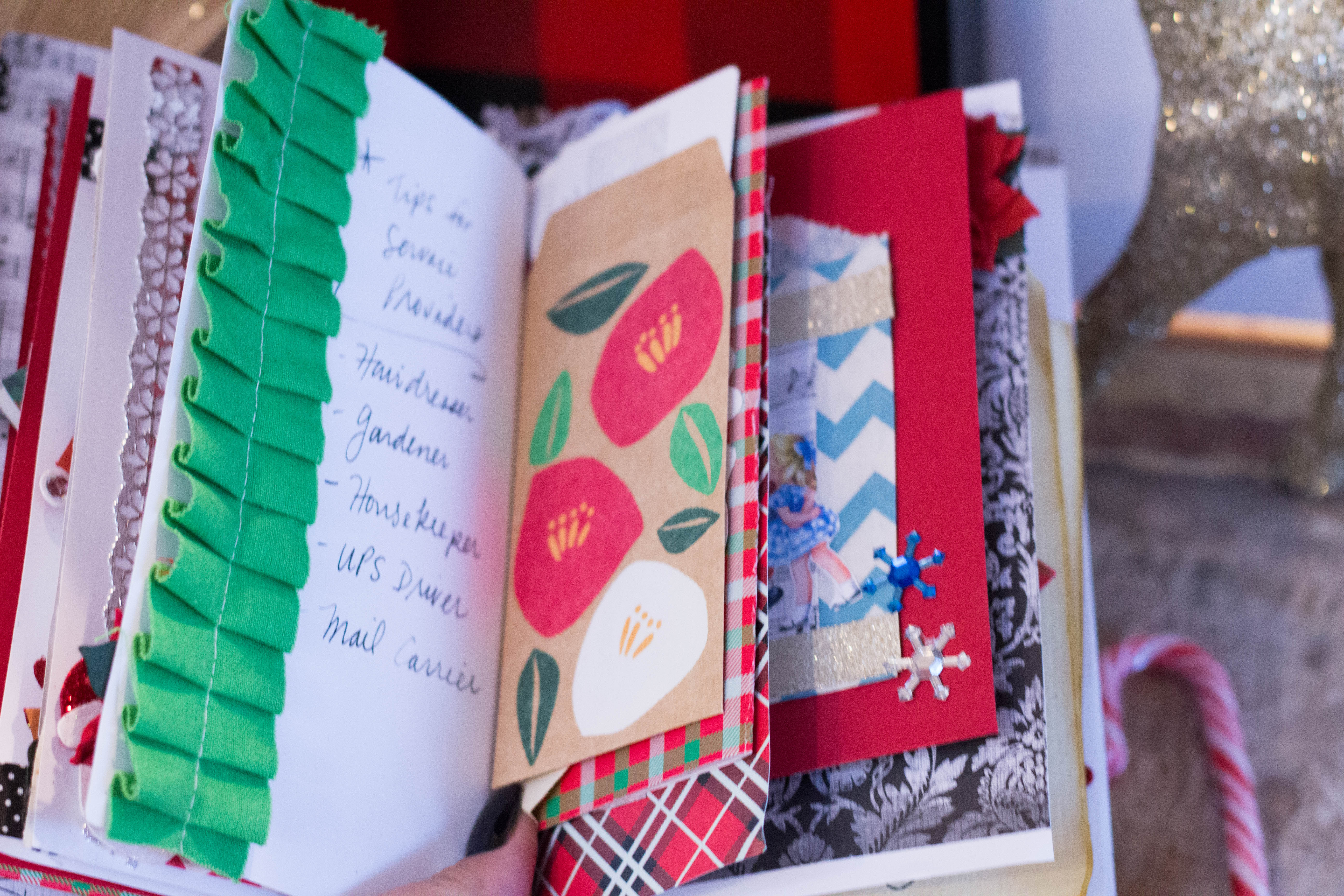 junk journal pockets and compartments