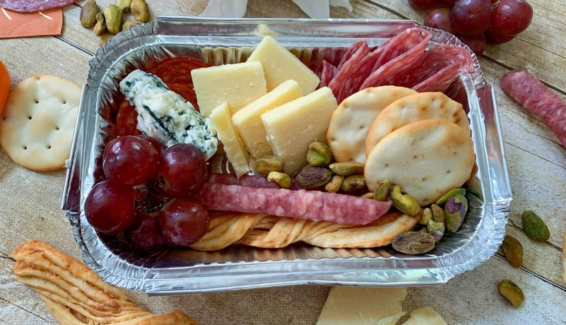 personal charcuterie box