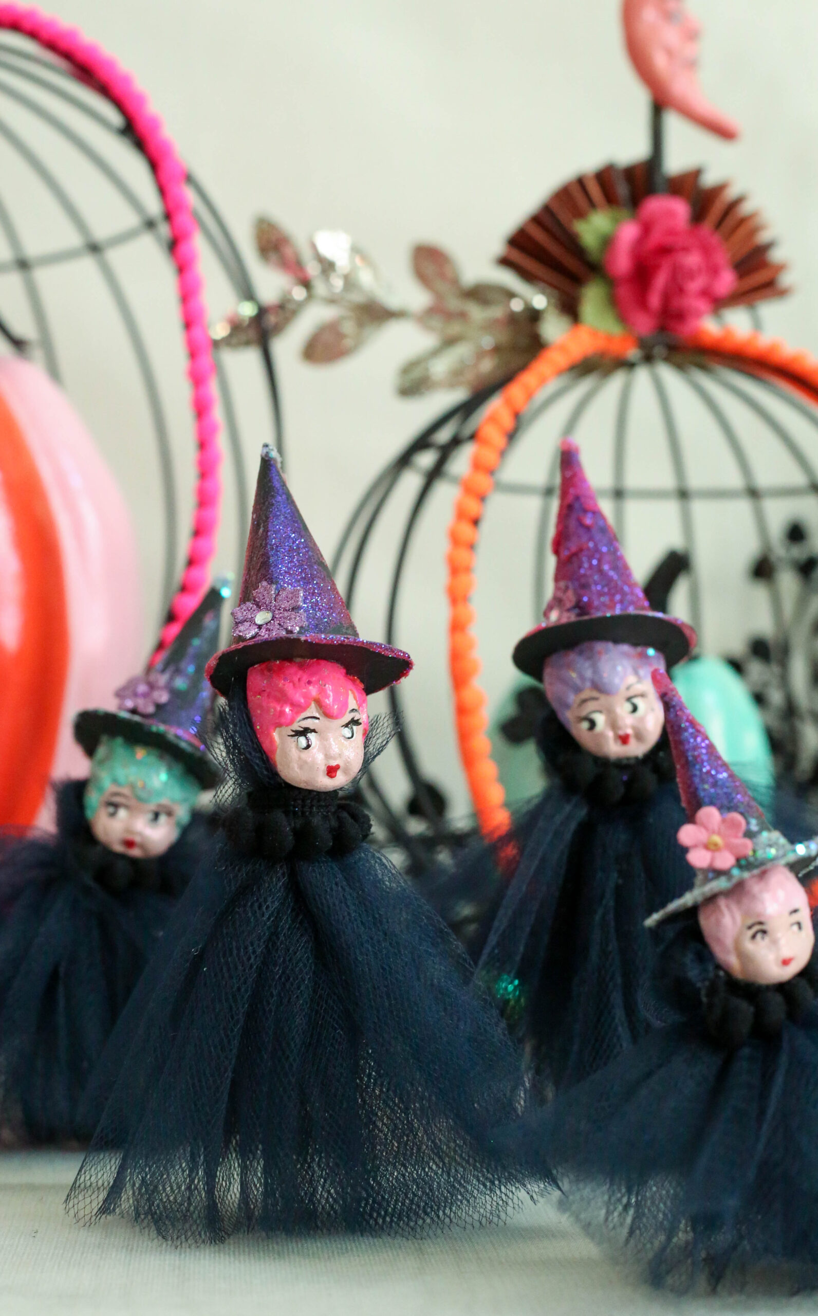 witches tulle