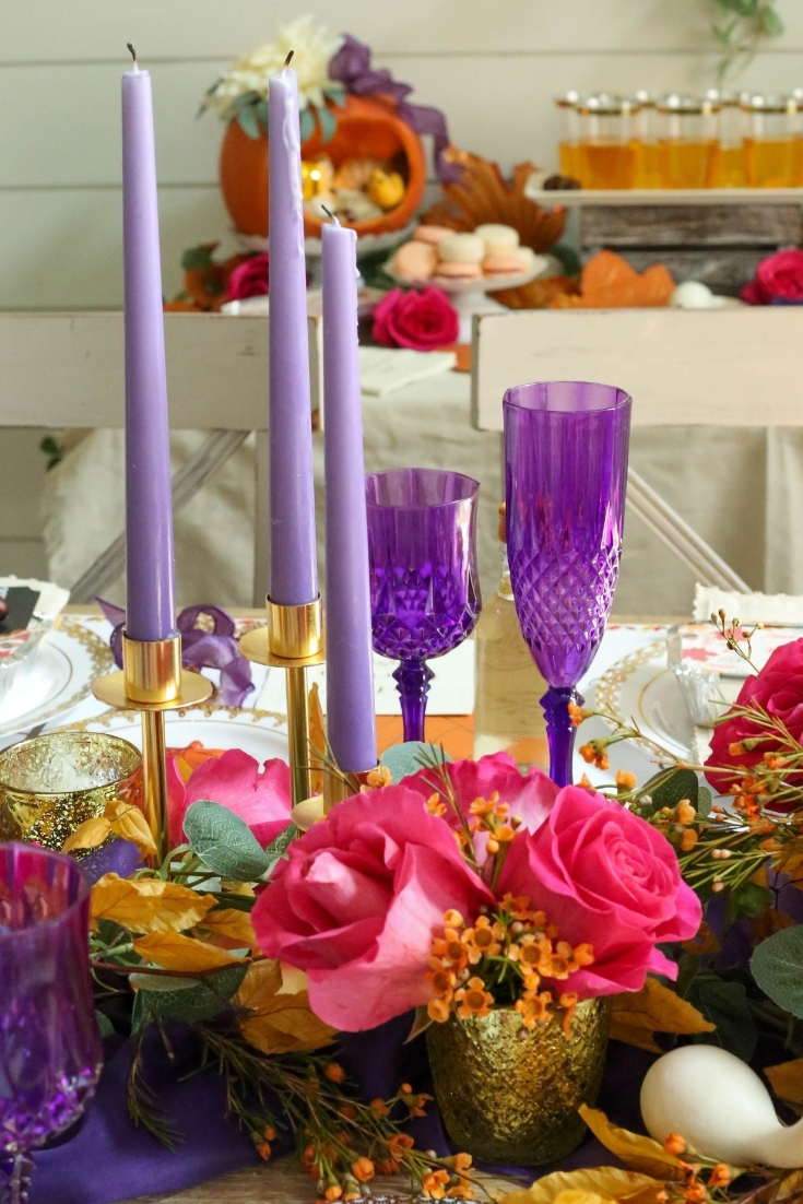 thanksgiving with purple
