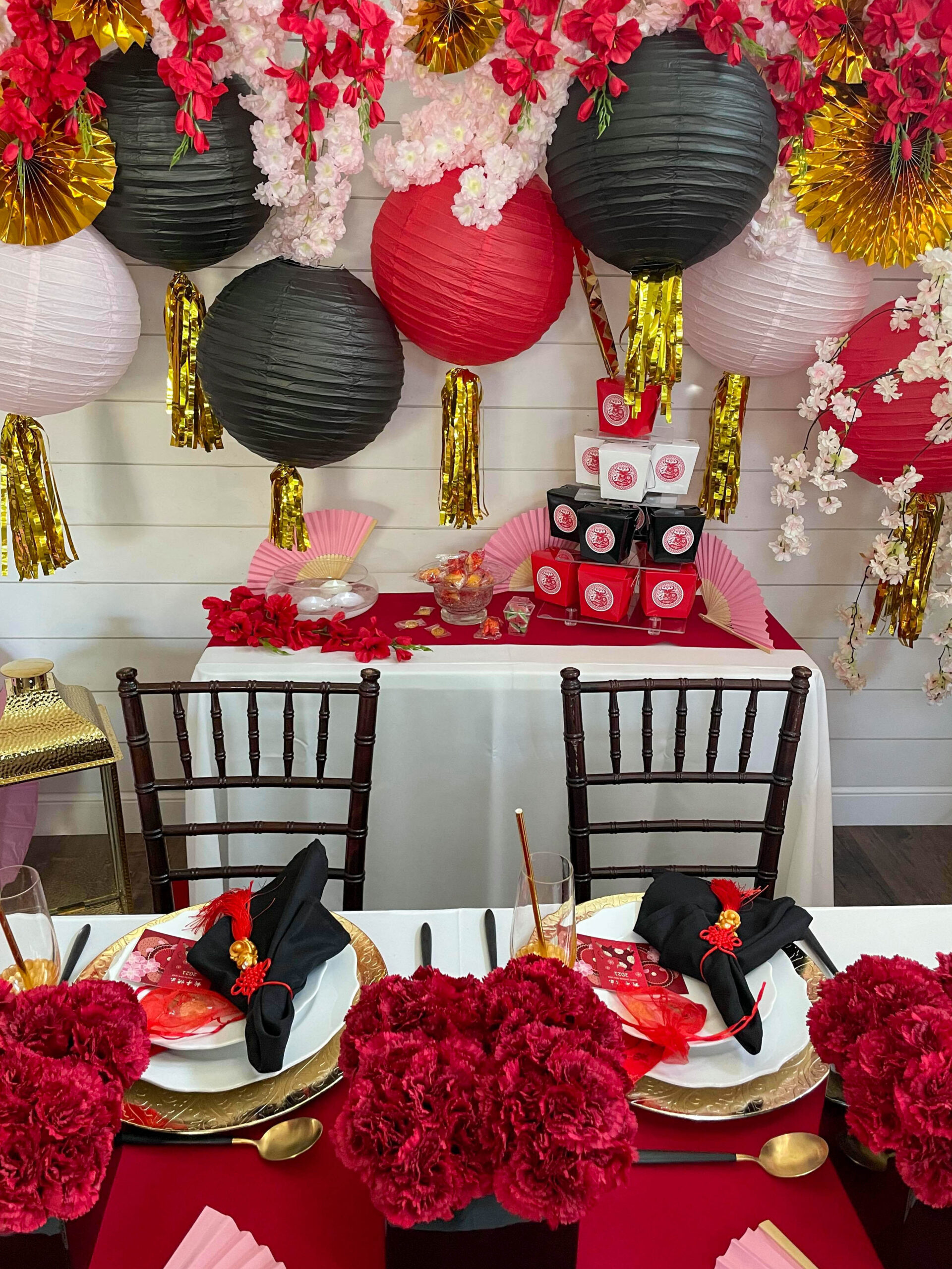 lunar new year party