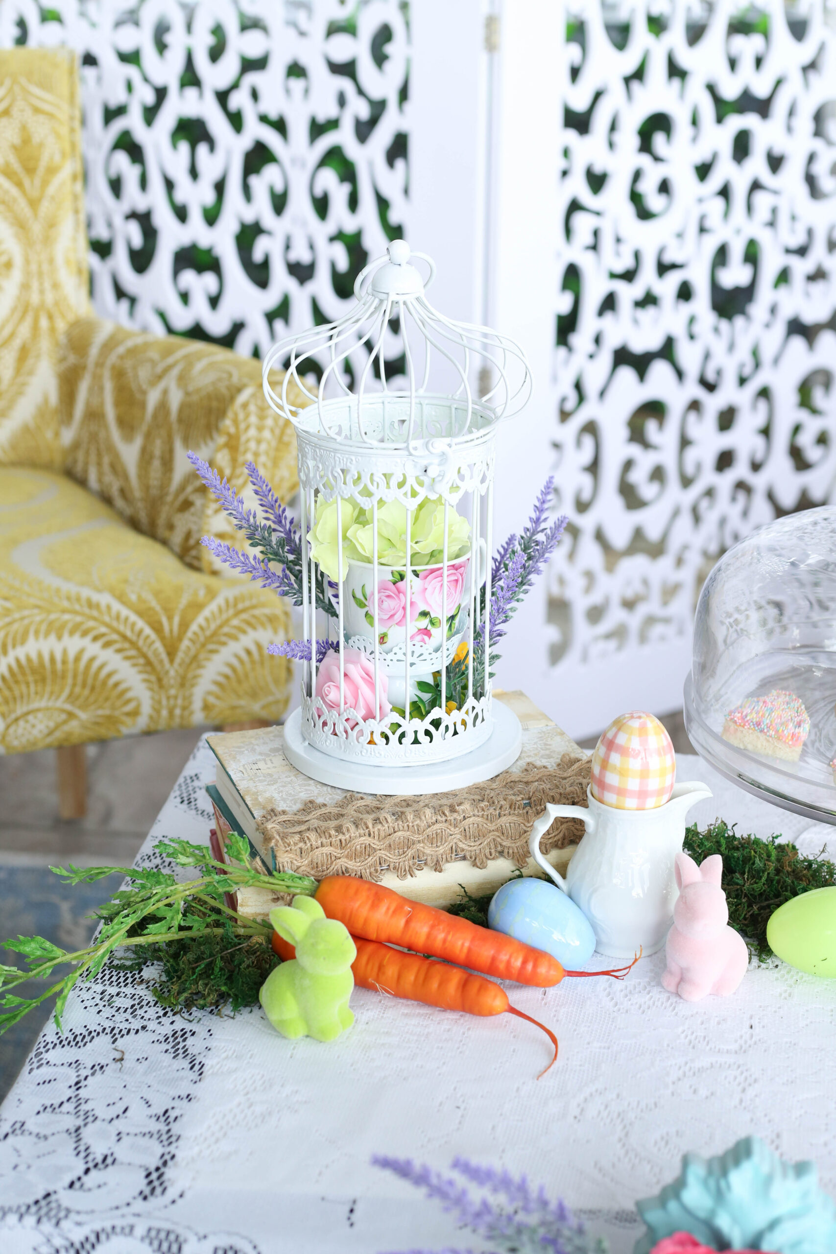 tea party birdcages
