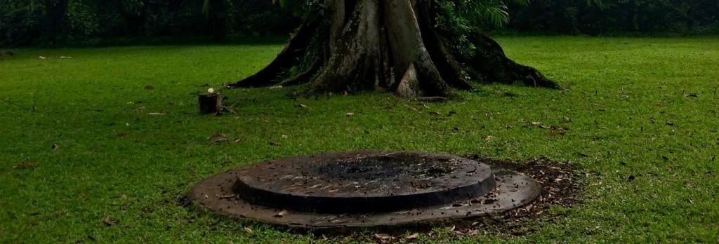 Modern altar for Mayan use