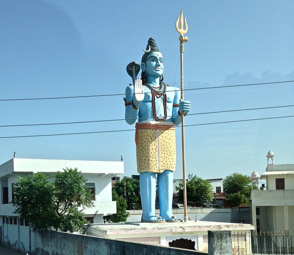roadside god