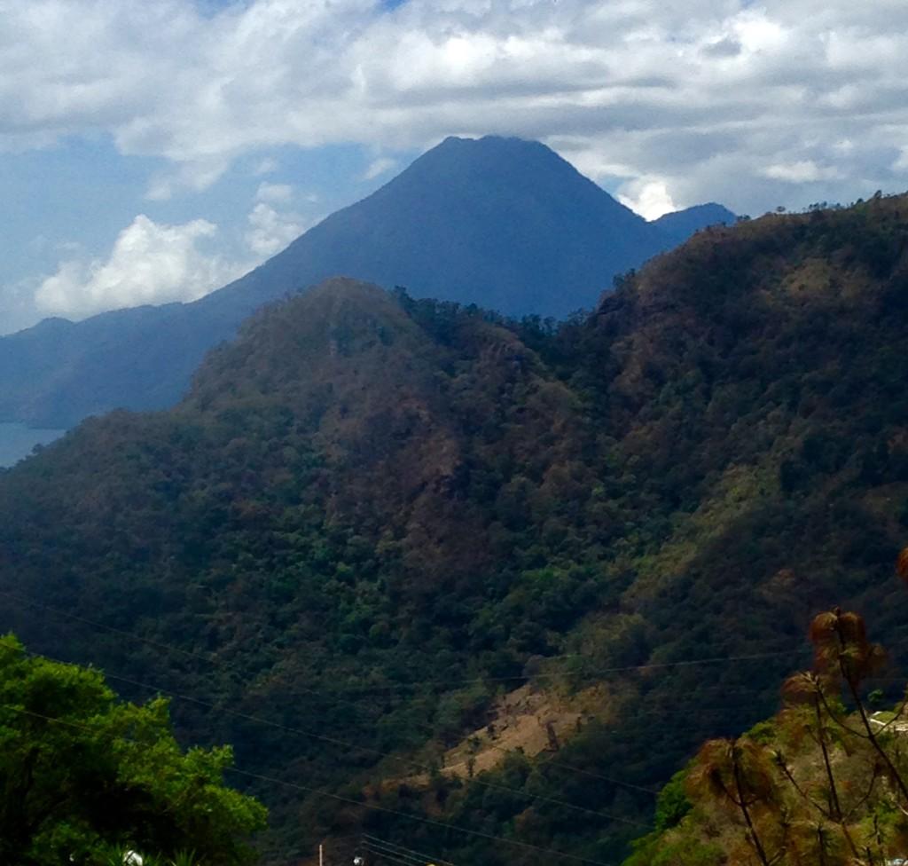 volcanic cone - Guatemala