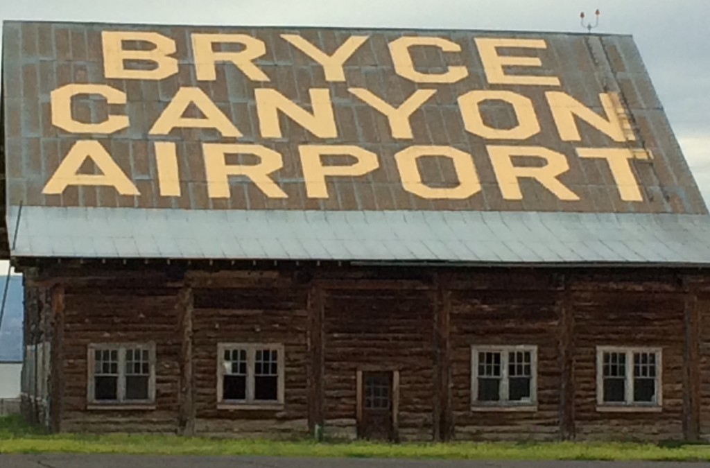 Bryce Canyon Airport -- Then