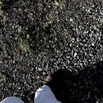 volcanic pebbles
