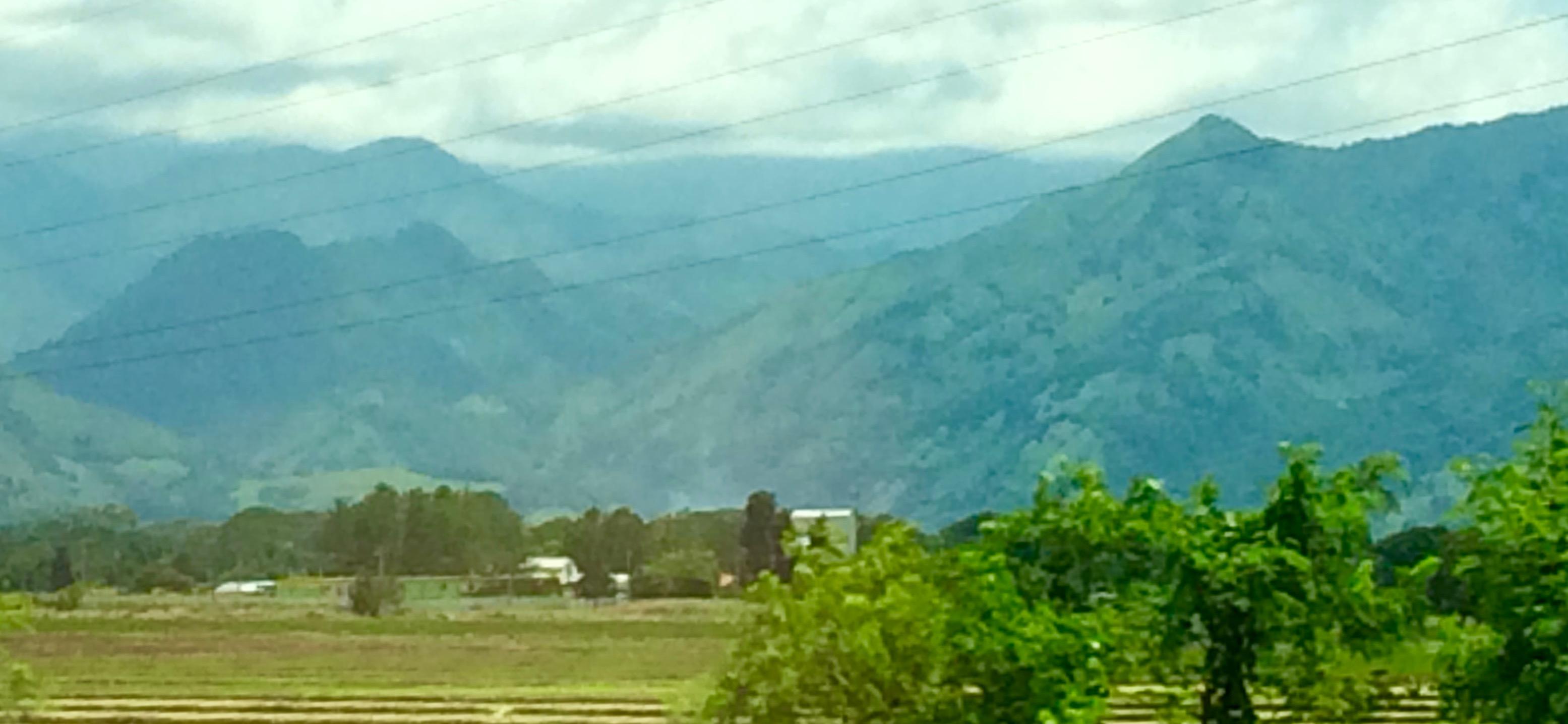 Countryside near Santiago