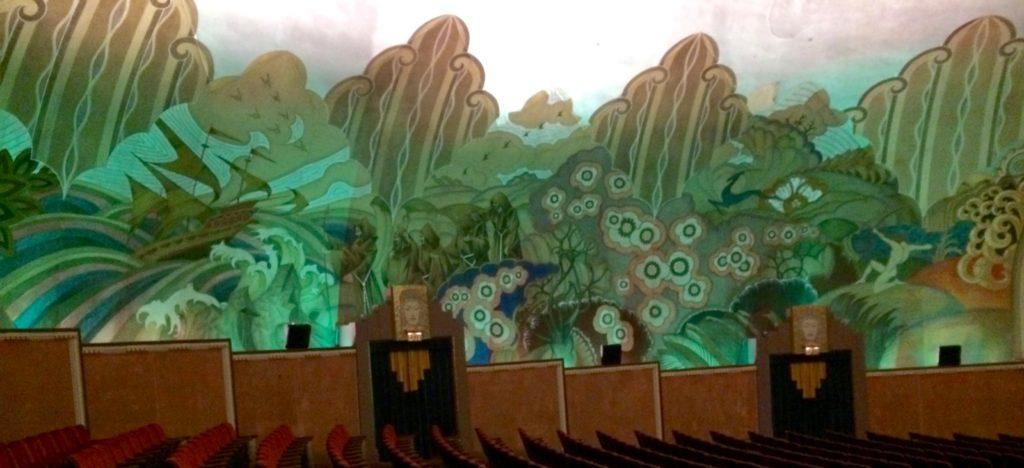Wall murals of Casino theatre