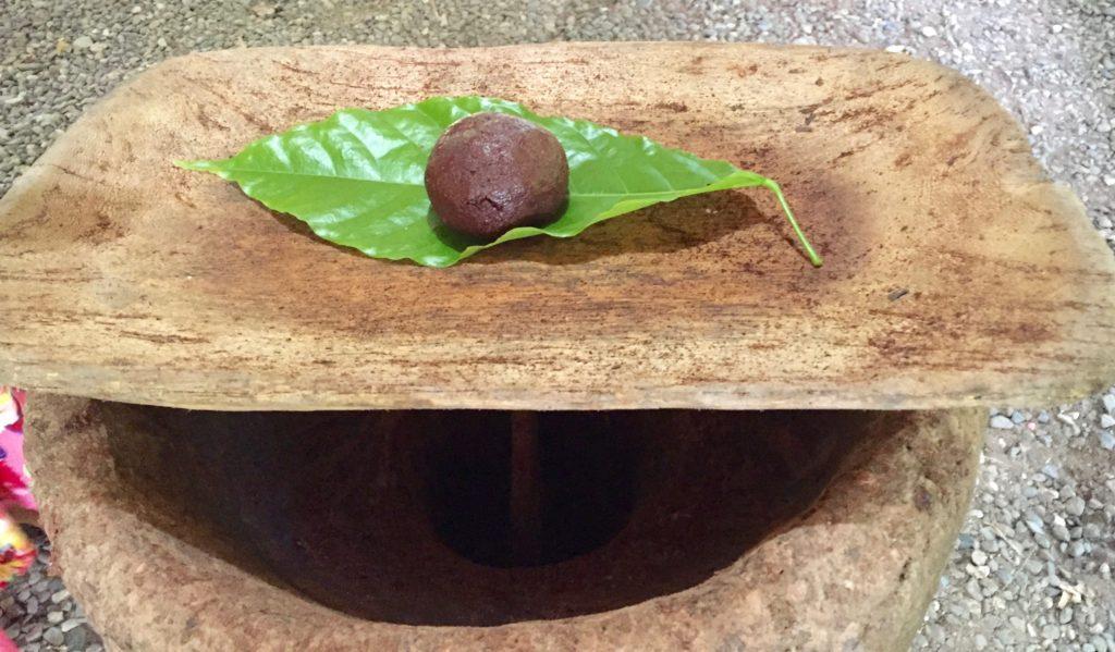 Ball of chocolate