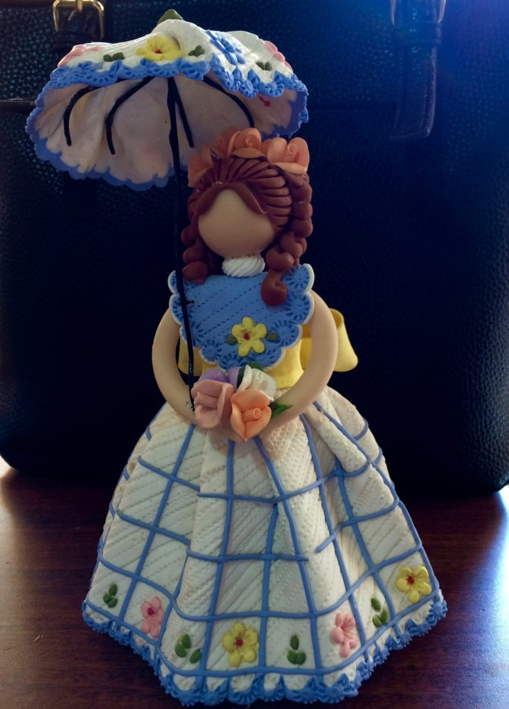Parasol doll - front