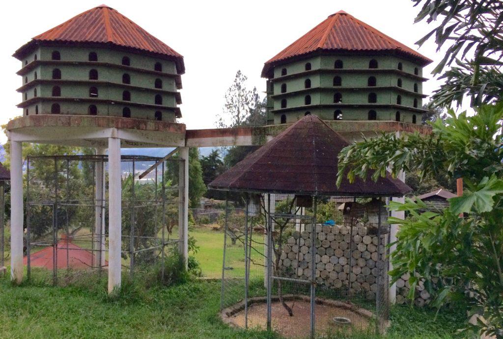 Dove-cotes at Altocerras Villas