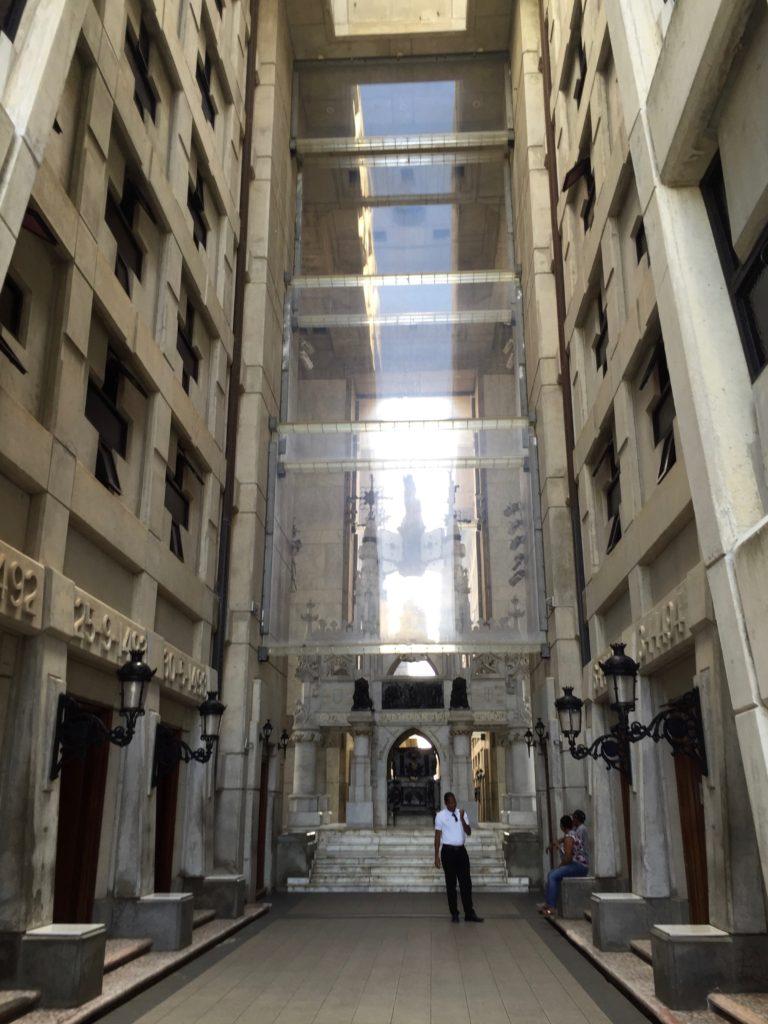 Entrance to Faro a Colon