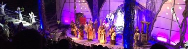 Final scene in The Nativity
