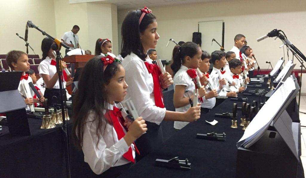 Nuria Martinez' chime choir