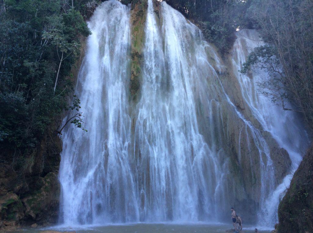 El Salto del Limon at high-water