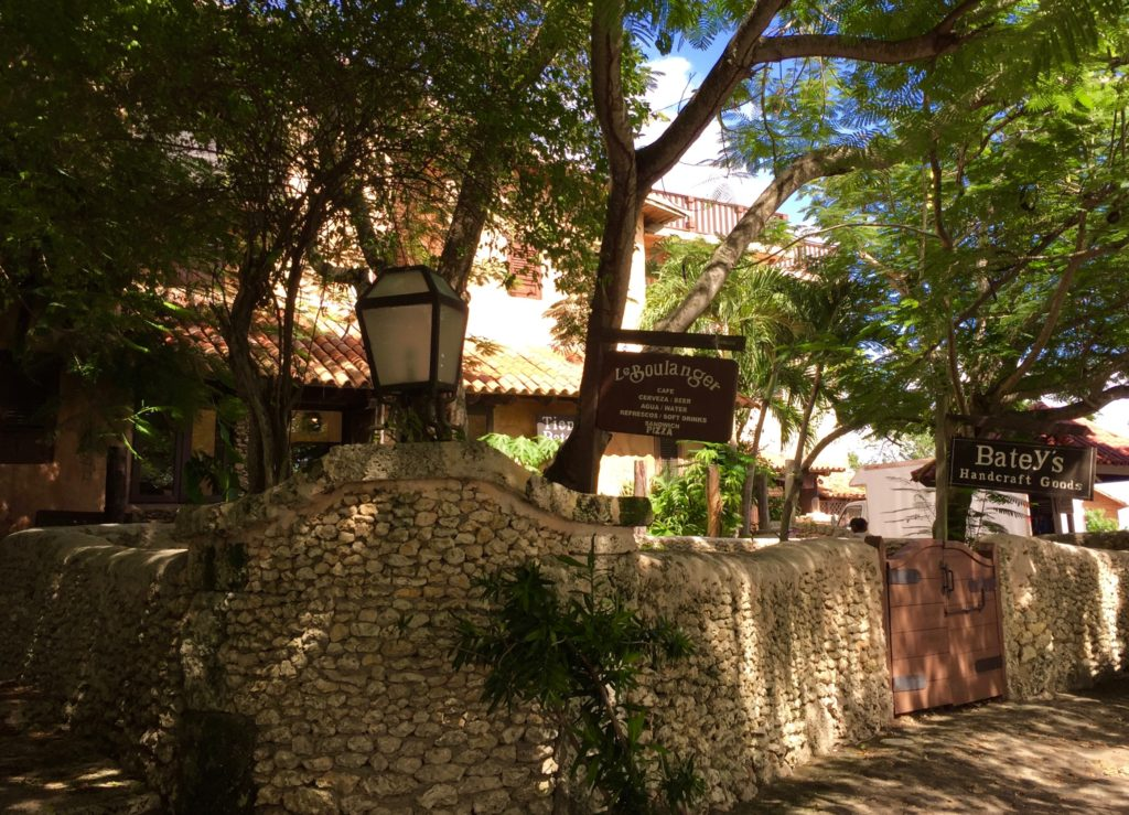 Open for business at Altos de Chavon