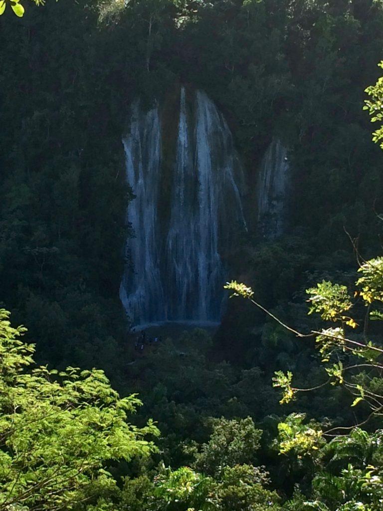 Saying goodbye to the falls
