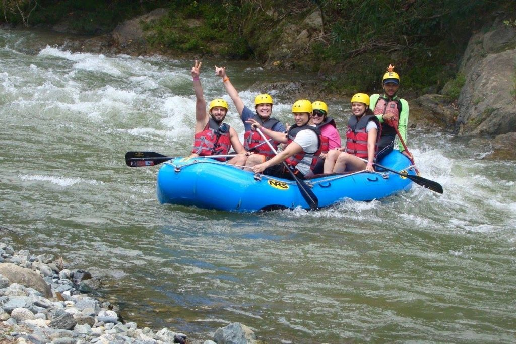 We made it through the rapids!