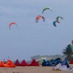 Kiteboarding square