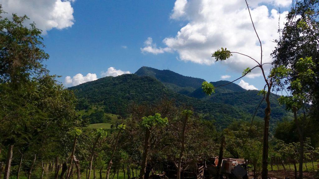 View of Mount Isabel de Torres