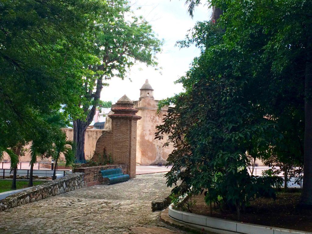 View of Puerta del Conde