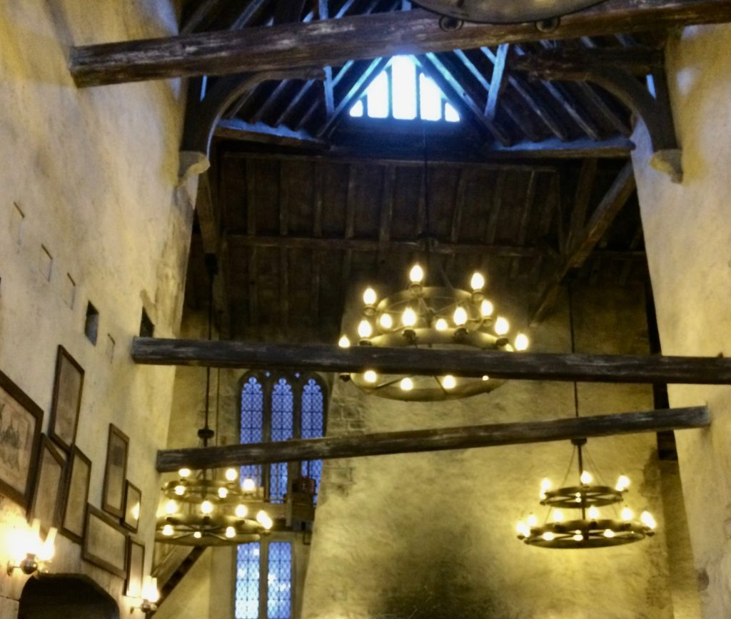 Leaky Cauldron ceiling view
