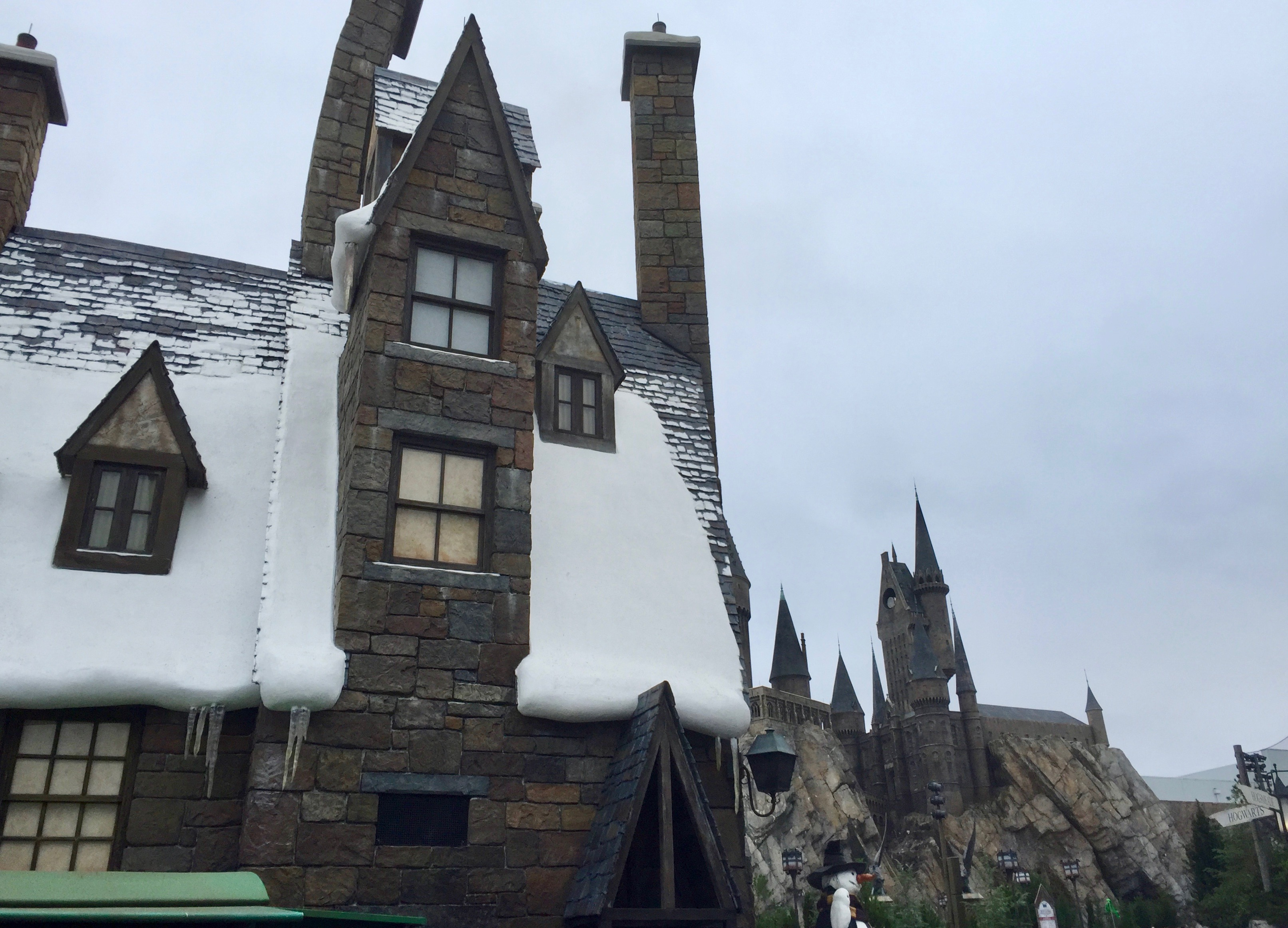 Winter in Harry Potter World