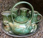 Pat Webber tea service