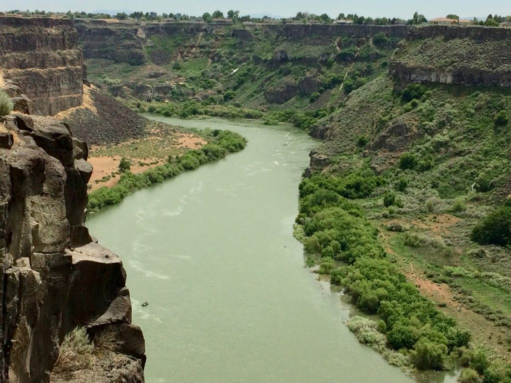 Snake River gorge by Twin Falls, Idaho