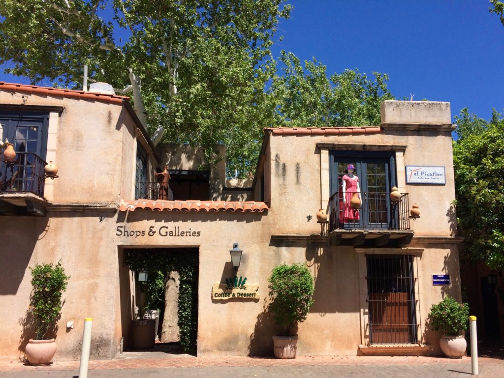 shopping at Tlaquepaque, Sedona