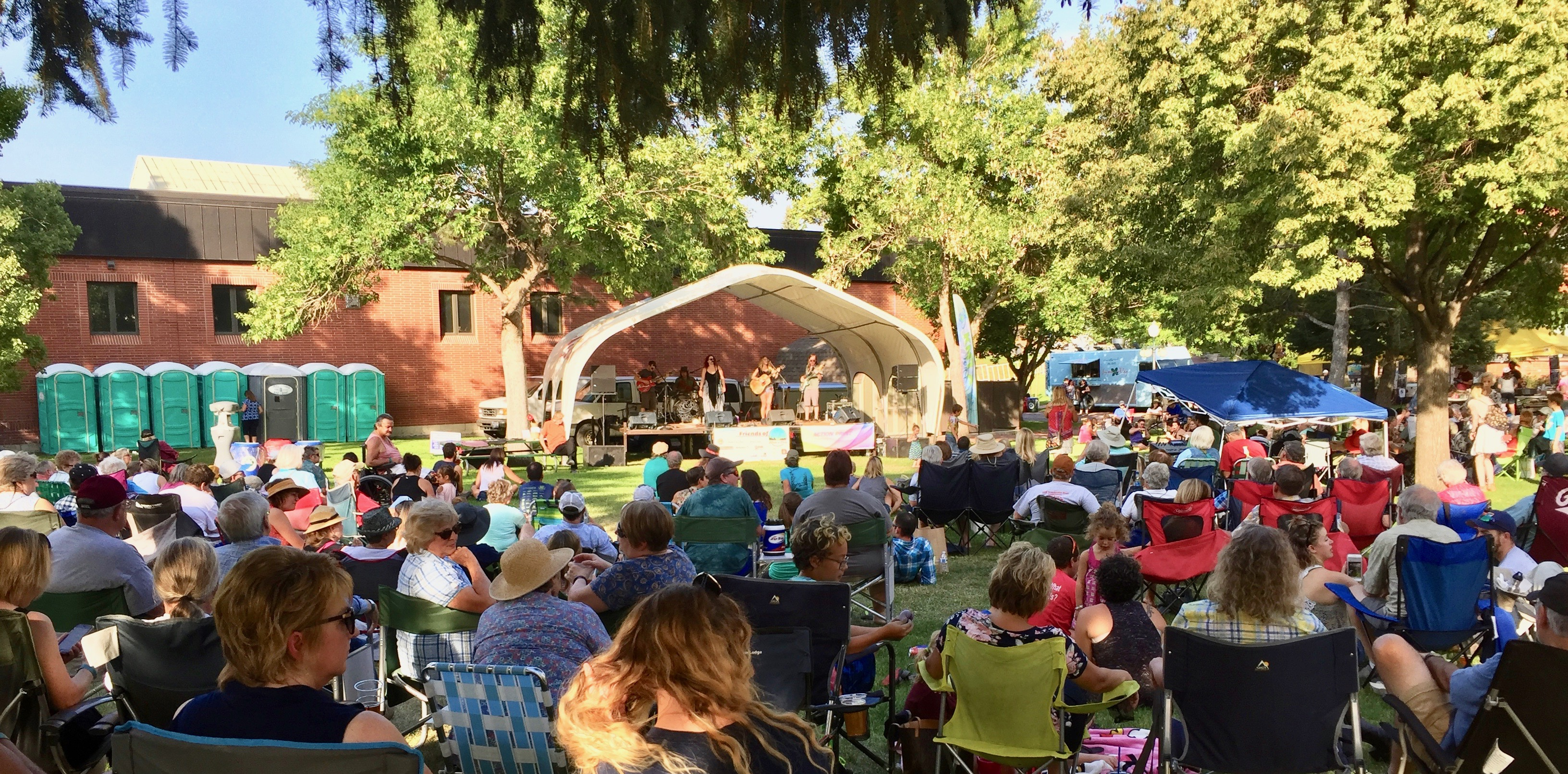 Free outdoor concert every Wednesday