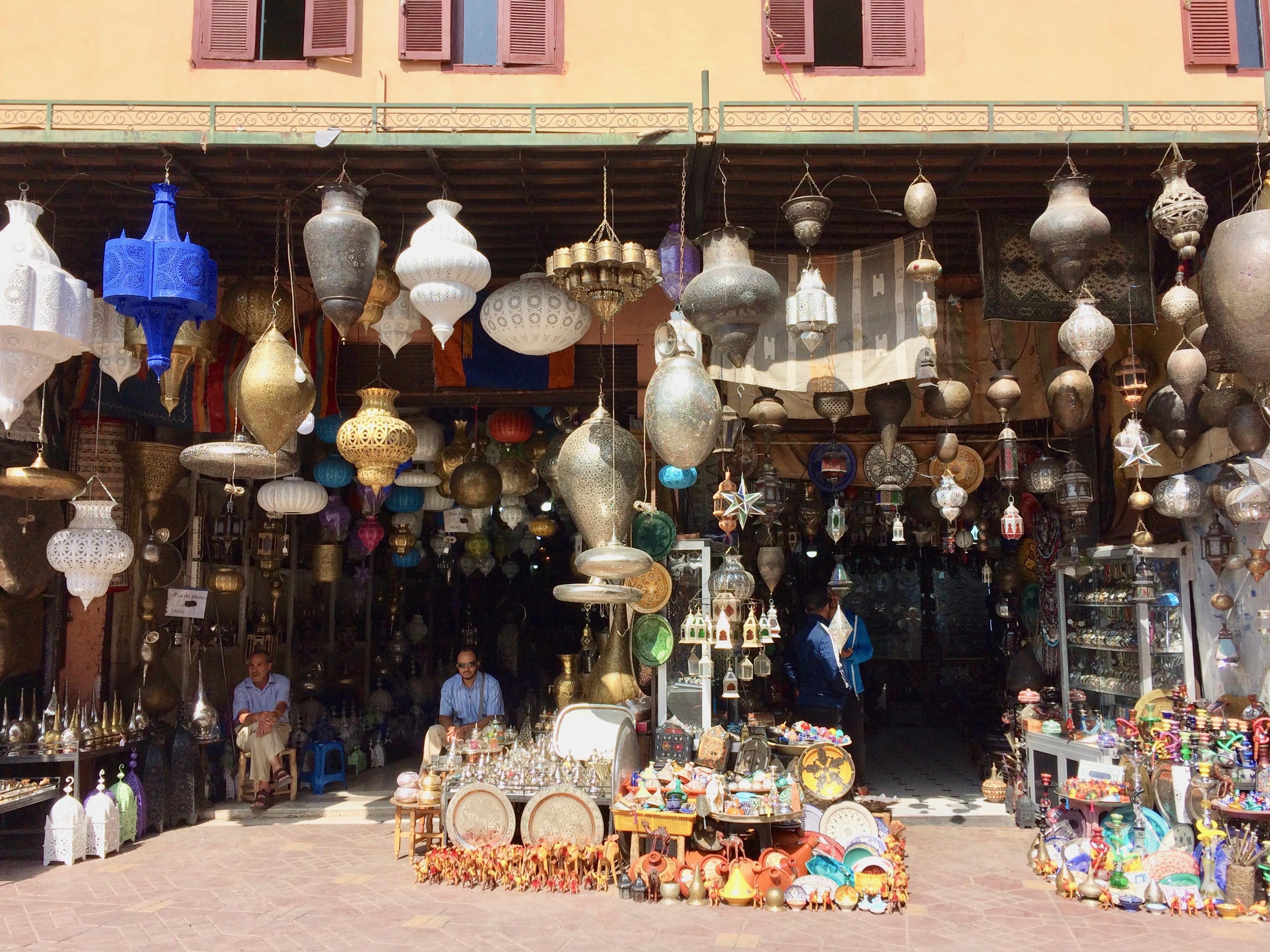 In Marrakesh Medina