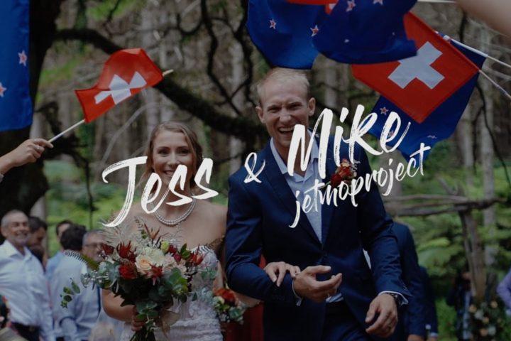Jess & Mike – Hunua Falls