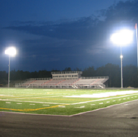 Jefferson High School Stadium Lighting