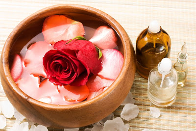 Rose Infused Massage Oil Recipe
