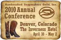The Handcrafted Soapmaker's Guild - Conference 2010
