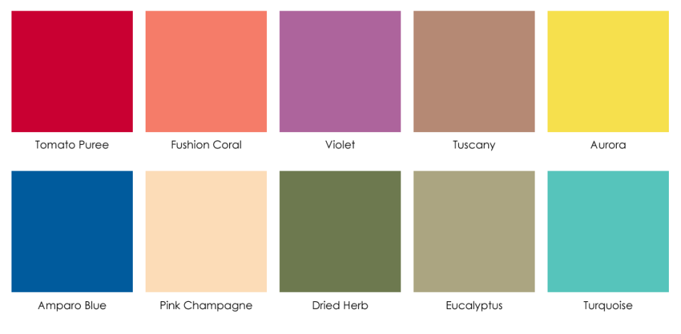 2010 Color and Scent Trends