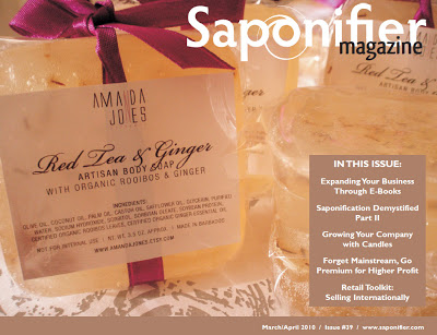 March April Issue of Saponifier Magazine Available