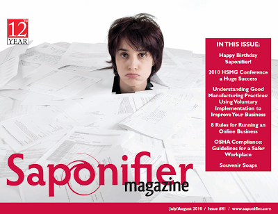 July August Saponfier Issue Available Now