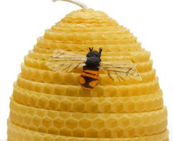 Beeswax Candles - Part 4 - Rolled Beehive Candles