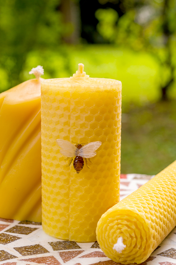 Beeswax Candles - Part 2 - Rolled Candles
