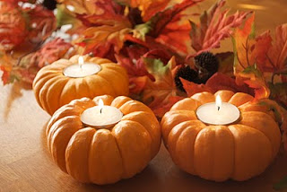 Recycled Candles - Making Mini Pumpkin Candles