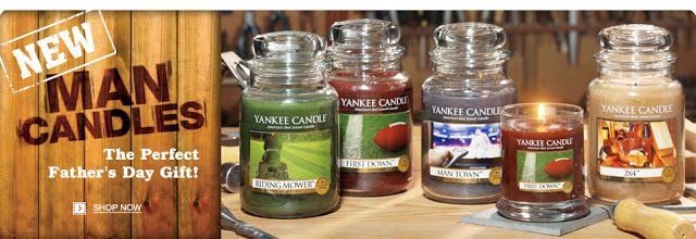 Yankee Candle Goes Manly