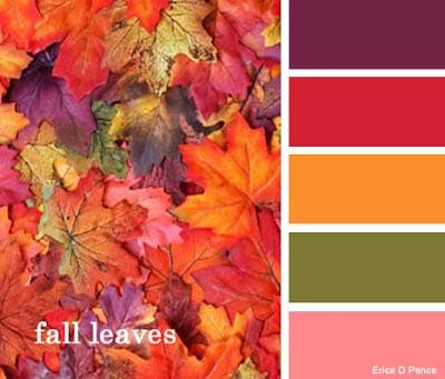Color Palette Soap Challenge - 4 - Fall Leaves