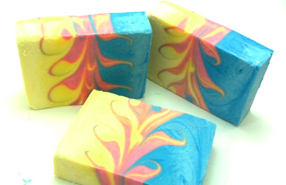 Sunday Spotlight - Colorful Soaps