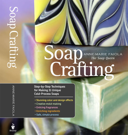 Soap Crafting Book by the Soap Queen - A Review