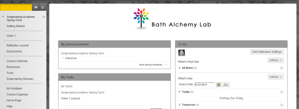Spring Term 2014 Online Soapmaking Academy - Soap Classes Have Begun
