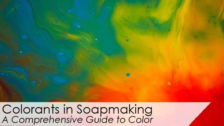 Feature Friday - Colorants in Soapmaking Class